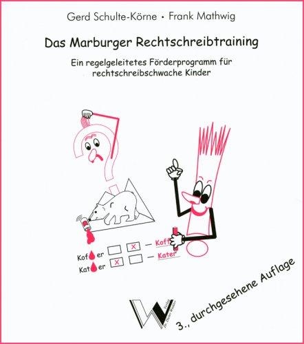 Das Marburger Rechtschreibtraining