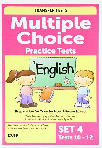 Multiple Choice English 4