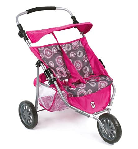 Bayer Chic 2000 697 87 - Zwillings-Jogger, hot pink pearls