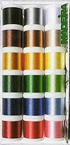 Madeira Rayon No 40 Machine Embroidery Thread Gift Box Assorted