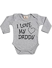 I Love Daddy Baby grow Gift