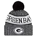 New Era NFL Sideline 2018 Bobble Mütze Green Bay Packers