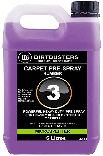 Dirtbusters professionale pre spray numero 3tappeto pre-filtro