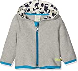 loud + proud Baby - Unisex Sweatjacke Jacke Fleece, Grau (Grey Gr), 92