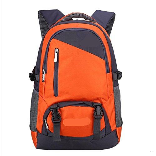 Xiuxiandianju 36-55L outdoor e trekking zaini ad alta capacità sport tempo libero spalla Borse Zaini viaggio Zaini , purple Orange