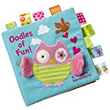 "Mary Meyer Taggies Softbuch, Eulenmotiv, Aufschrift ""Oodles of Fun"""