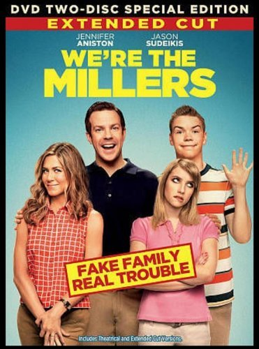 WE'RE THE MILLER 2-Disc EXTENDED CUT Special Edition DVD Set -- Jennifer Aniston & Jason Sudeikis by Jennifer Aniston