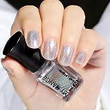Holografischer Nagellack-Laser-Glitzer von Mingfa.y, chromfarben, Pigment für Nagelkunst, Maniküre