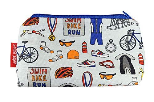 Selina-Jayne Triathlon Limitierte Auflage Designer Kosmetiktasche (Fahrräder Triathlon)