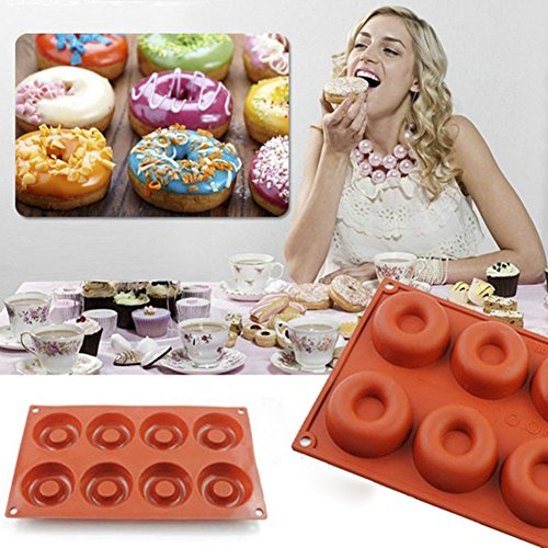 timeracing Silikon Donut Muffin Schokolade Kuchen Cupcake Backen Form bakewares Huhn Backen Werkzeuge Ausstechformen - Silikon-schimmel Huhn