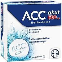 ACC akut 600 mg Hustenlöser, 40 St. Brausetabletten
