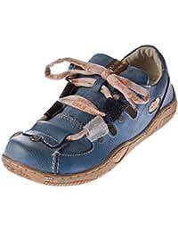 TMA Damen Sandalen Echtleder Sandaletten Halbschuhe Leder Schuhe TMA 1338 Gr. 36 - 42