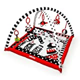 Black, White & Red Activity 3D Playmat &...
