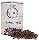 myfruits Bio Rohe Kakao Nibs - purer Kakao, ohne Zusätze - reich an Magnesium, ungesättigten Fettsäuren und Proteinen - zum Backen, in Müsli oder Smoothies. Abgefüllt in Deutschland (500g)