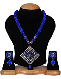 Darsha Fashion's Traditional Pendant Necklace Set For Women/Stylish Pendant Necklace For Girl's/Fashionable Necklace...