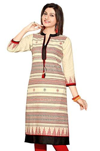 Khadi Jute Long Sleeves Kurtis (Size