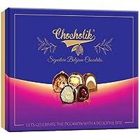 Chocholik Exclusive Signature Belgium Chocolates Truffles Gift Box - 12pc