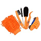 CkeyiN ®6pcs / lot Fahrrad Kettenfilter Kits Fahrrad Reiniger Werkzeug Satz Reifen Pinsel Ketten...