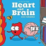 Seluk, N: Heart and Brain 2020 Square Wall Calendar