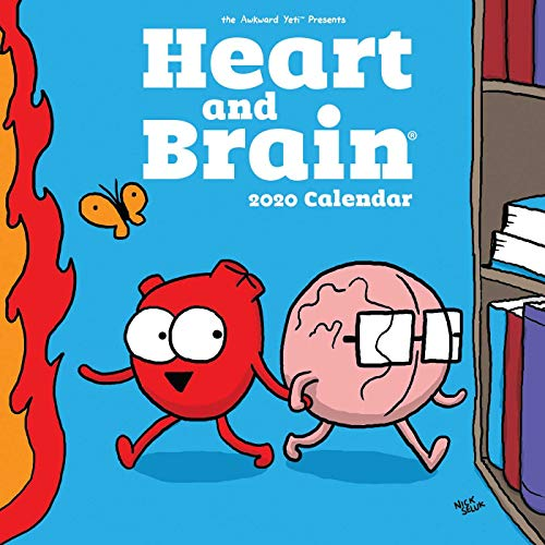 Heart and Brain 2020 Calendar par Nick Seluk