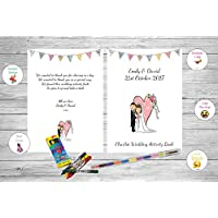 Personalised Childrens Kids Country Wedding Activity Pack Book Favour Gift Cute AB100