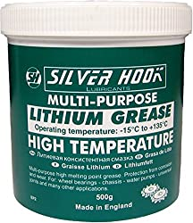 SILVERHOOK SGPG01 Lithium EP2 Grease Tin, 500 g