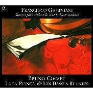 Geminiani: Sonates pour violoncelle avec la basse continue