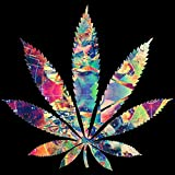 Best Wall Posters - Love st. Marijuana Trippy Weed Poster (Paper, Multicolour) Review