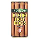 Ye Olde Oak Jumbo Hot Dogs in Brine, 560 g