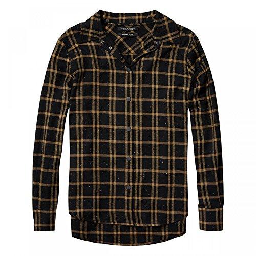 Maison Scotch Damen Langarm Hemd Checked button up shirt 141024 Combo C