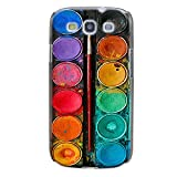 Handyhülle für Samsung Galaxy S3 Mini ( Farbkasten ) - Hülle - Schutzhülle mit Motiv - TPU Silikon Hülle - Case - Cover - Schale - Backcover - Handytasche