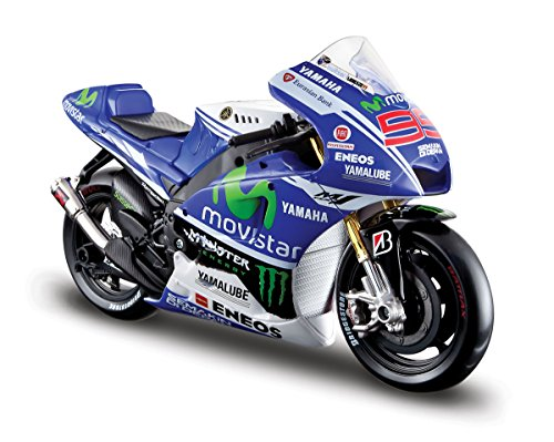 Maisto Yamaha Factory Racing Team 2014 de Jorge Lorenzo en escala 1/10...