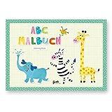 Mini Malbuch: ABC der Tiere