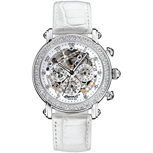 Ingersoll – Reloj Dama | Reloj Esqueleto – Reloj para Dama – Analógico – Automático – Blanco - IN7202WH
