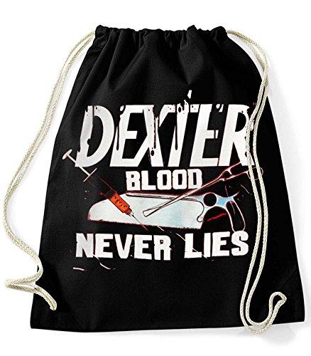 35mm-Mochila-Bolsa-Dexter-Blood-Never-Lies-Unisex-NEGRA