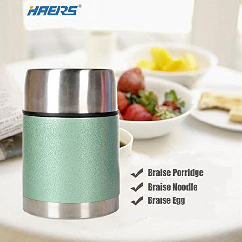 Moppi 700ML Haers Vacuum Lebensmittel Brennschale Insulated Food Jar Edelstahl Thermal Lunchbox Insulated Food Jar