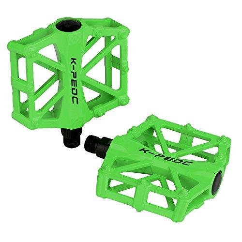 TXJ Pedali per City/Bici della Strada/Scatto Fisso Bicicletta/MTB, 2 Pezzi (Verde)