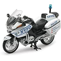 New Ray 44073 – Motorbike escala 1: 12, NYPD BMW r1200rt-p Bike, die cast
