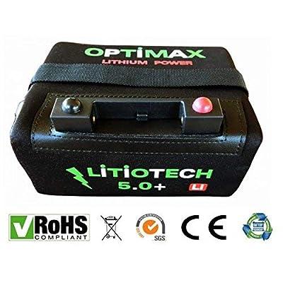 Optimax Batería Litio Carro