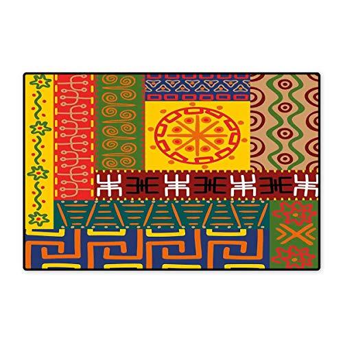 ßmatten für Zuhause, Liebe Valentinstag, Feier mit Bändern, Regenbogenfarben, Happiness Vintage Badematte, 40,6 x 61 cm, Mehrfarbig 16x24 inch (40cm x 60cm) Color11 ()