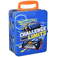 Theo Klein 2883 Hot Wheels Collecting Case (for 18 Cars), Toy, Multi-Colored