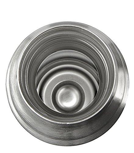 Isosteel VA-9556 Vakuum-Isolierflasche 0.75 L aus 18/8 Edelstahl mit Schraubverschluss und Trinkbecher - 5