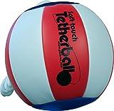 Park & Sun - Teterball Deportivo de Tacto Suave con cordón de Nailon de 17,78 cm y Clip, BALL-300TB-RWB, Americana (Red/White/Blue)
