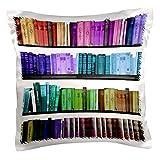 3dRose pc_112957_1 Colorful bookshelf bo...