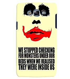 Citydreamz Monsters/Inside Us/Ghost/Blood/Fear/Eyes Hard Polycarbonate Designer Back Case Cover For Samsung Galaxy Core Prime G360H/G361H