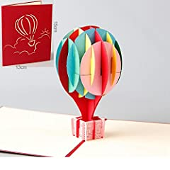 Idea Regalo - Biglietto Auguri Pop Up Laurea Paper Spiritz Cartolina Auguri Compleanno Biglietto San Valentino 3D Holiday Valentine's Day Thank You Birthday Card Cartolina Auguri Compleanno