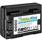 Akku-King Batterie compatible Canon BP-709 - Li-Ion 900mAh