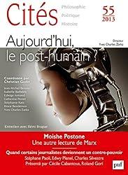 Cités 2013 - N° 55 - Demain, le post-humain