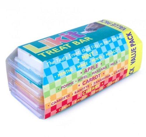Likit Horse Treat Bar Value Pack 4, Kirsche, Apple, mint, Karotte (Pflege Value Pack)