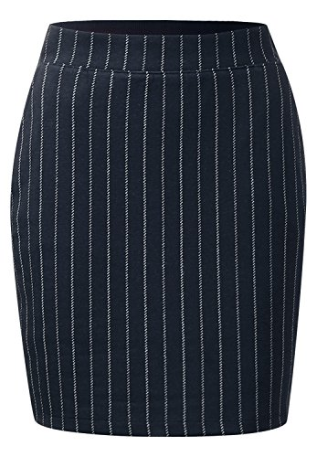 Street One Damen Nadelstreifen Mini Valezka night blue